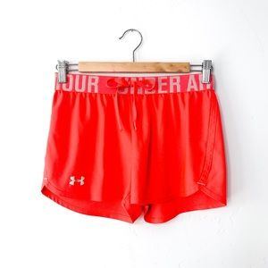 Under Armour Neon Coral Shorts